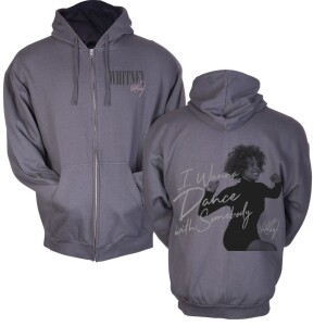I Wanna Dance With Somebody Photo Zip Hoodie