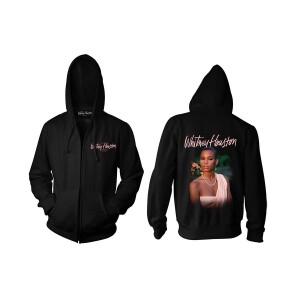 Whitney Houston 35th Anniversary Zip Hoodie