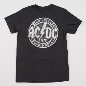 High Voltage R&R Distressed Logo T-Shirt