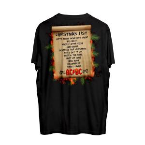 AC/DC Holiday Wish List T-Shirt