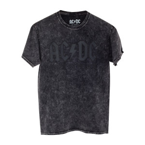 AC/DC Grey on Grey Logo T-Shirt