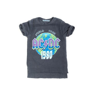 AC/DC World Tour 1980 Globe T-Shirt