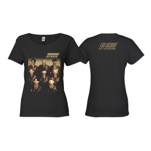Treasure Ladies Black T-shirt