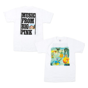 MUSIC FROM THE BIG PINK ALBUM T-SHIRT