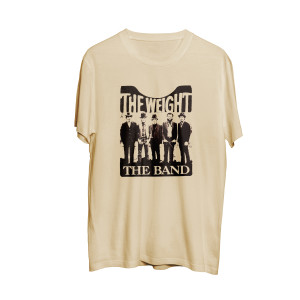 """The Band """"The Weight"""" Tan T-shirt"""
