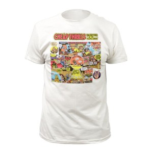 White Cheap Thrills Cartoon T-Shirt