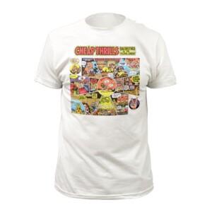 White Cheap Thrills Cartoon T-Shirt