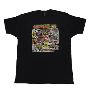 Black Cheap Thrills Cartoon T-Shirt