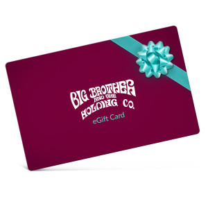 Big Brother & The Holding Company Electronic Gift Certificate