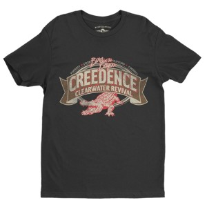 Creedence Clearwater Revival Gator T-Shirt - Lightweight Vintage Style