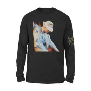 Bowie Serious Moonlight '83 Longsleeve T-shirt
