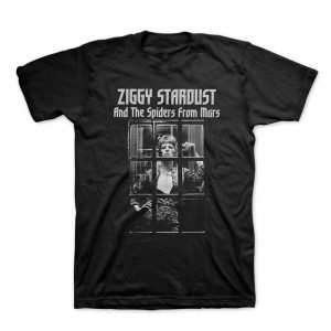 Bowie Ziggy Stardust Black and White T-Shirt