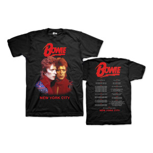 Bowie Live in New York City Tour Tee