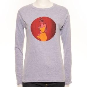 Ladies Cartoon RTL Long Sleeve T-Shirt
