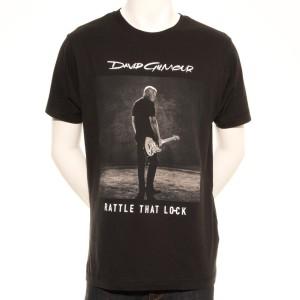 Rattle That Lock Sepia Photo European Tour T-Shirt