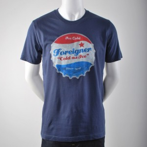 Cold As Ice Vintage Bottle Cap T-Shirt
