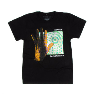 Genesis Invisible Touch Shortsleeve Black T-shirt