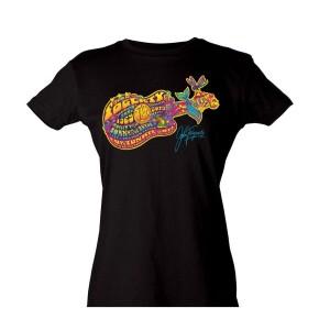 Women's 50th Anniversary Guitar T-Shirt
