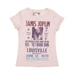 Janis Joplin and the Full Tilt Boogie Band Tour Ladies T-shirt
