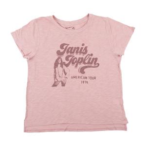 Janis Joplin - American Tour 1970 Heather Rose T-shirt