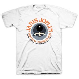 Janis Joplin Festival Express 1970 T-shirt