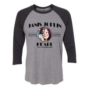 Janis Joplin Pearl 3/4 Sleeve Raglan
