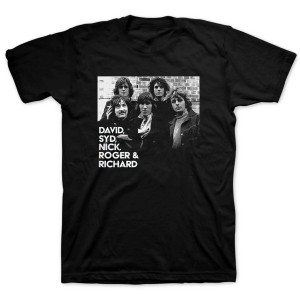 Pink Floyd Five Piece Black T-shirt