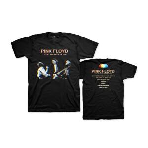 Pink Floyd Live at Knebworth 1990 Tracklist T-Shirt