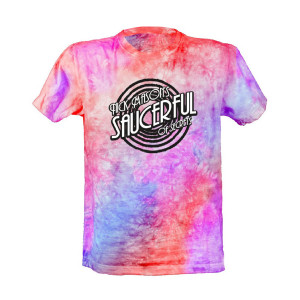 Nick Mason's Saucerful Of Secrets Tour Tie Dye Logo T-Shirt