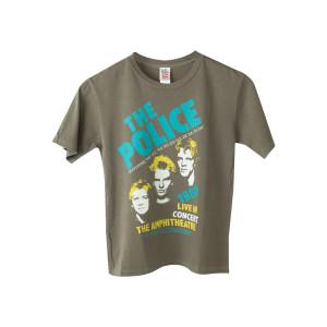 The Police 1980 Live in LA Kids Tee