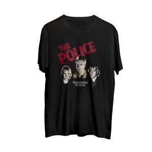 The Police Men's Outlandos Red Logo T-Shirt