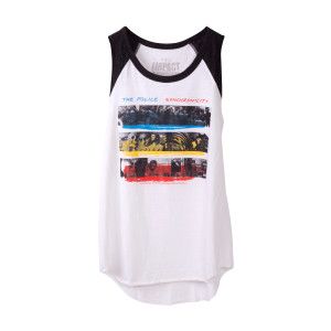 The Police Women's Synchronicity Stripes Tank Top