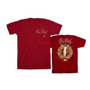 Whitney Houston One Wish Burgandy T-Shirt