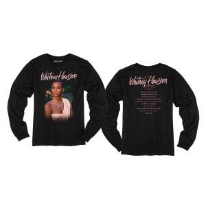 Whitney Houston 35th Anniversary Longsleeve T-Shirt