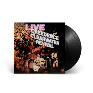 Creedence Clearwater Revival - Live In Europe Double Vinyl LP