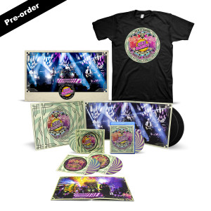 Nick Mason's Saucerful of Secrets Live at the Roundhouse Limited Edition Signed Poster + Set List Tee + Choice of Media Bundle