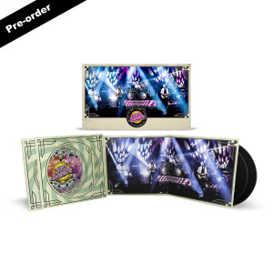 Nick Mason's Saucerful of Secrets Live at the Roundhouse Double LP + Limited Edition Signed Poster