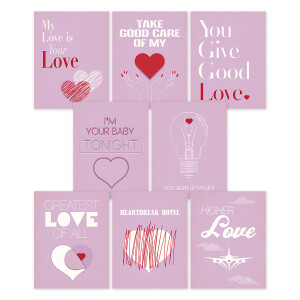 Whitney Houston Exclusive Cards Bundle (8 Cards)
