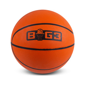 Orange Logo Mini Basketball