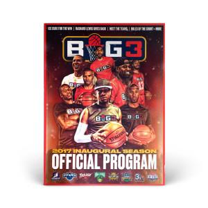 Big3 Commemorative Program