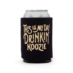 Black Day Drinkin Koozie