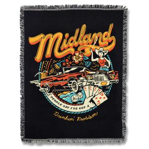 Drinkin Problem Midland Woven Blanket