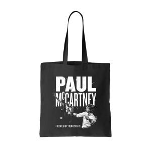 Paul McCartney Freshen Up Tour 2018-19 Black Tote