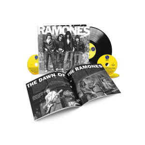 Ramones 40th Anniversary Deluxe Edition 3-CD/1-LP Set