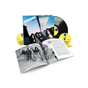Ramones Leave Home 40th Anniversary Deluxe Edition 3-CD/1-LP Set
