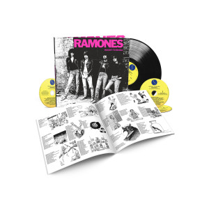 Ramones Rocket To Russia 40th Anniversary Deluxe Edition 3-CD/1-LP Set