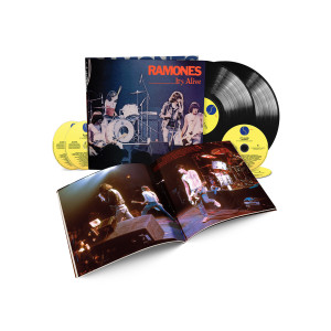 Ramones – It's Alive 40th Anniversary Deluxe Edition 4-CD/2-LP Set