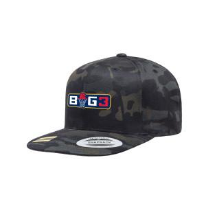 Big3 Logo Camo Flatbrim