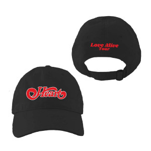 Love Alive Tour Black Dad Hat