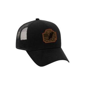 Born and Raised Black Trucker Hat